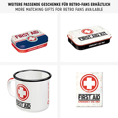 Diseño de Primeros Auxilios para Tarro de Caja metálica de Primeros Auxilios...