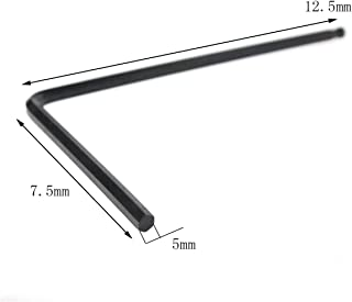 AUTOKAY 5mm Guitar Truss Rod Ball End Long Allen Wrench Adjustment Tool for Martin Acoustic Guitar