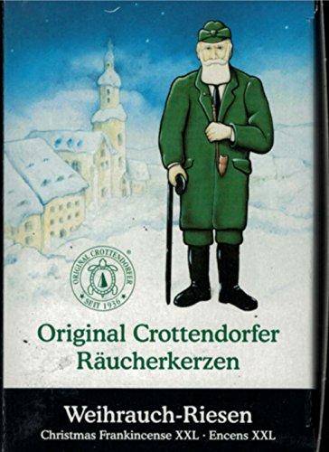 Original Crottendorfer Räucherkerzen - Weihrauch Riesen 20Stück/Pack , Größe XXL