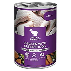 With more of the texture and flavour of real meat or poultry, our grain-free wet dog food is an ideal way to enhance your dog's nutrition and add an extra level of enjoyment. Packed with quality protein as well as superfoods and holistic ingredients,...