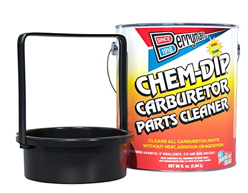 Berryman Products 0996-ARM B-9 Chem Dip Parts Cleaner with Basket and Armlock, 3/4-Gallon Pail