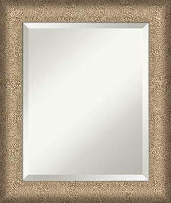 Amanti Art Framed Vanity Mirror | Bathroom Mirrors for Wall | Mirror | Wall Mounted Mirror | Mirror | x in. from Amanti Art
