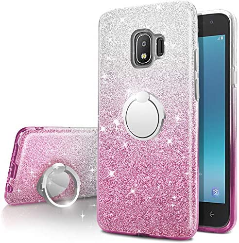 Galaxy J2 Pro 2018 Case Galaxy Grand Prime Pro Case Silverback Girls Bling Glitter Sparkle Cute product image