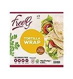 FreeG Wrap Tortilla - 6 confezioni da 180 g, Senza glutine...