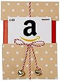Carte cadeau Amazon.fr - €40 - Dans un étui de Noël Kraft