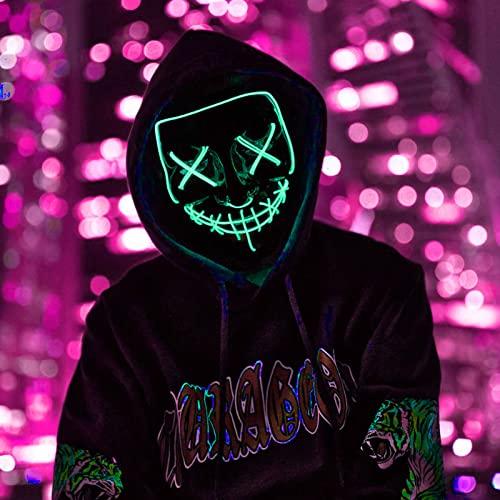 DONYA LED Máscaras Halloween, Purge...