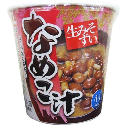 旭松食品『カップ生みそずいなめこ汁(6食入)』