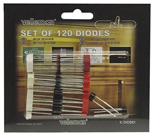 VELLEMAN - K/DIODE1 Dioden-Sortiment 120-teilig, 112000