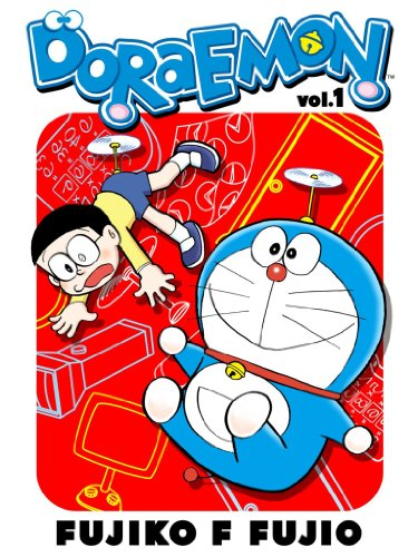 English Comics Doraemon Manga Anime Gadget cat from the future Vol.1 Japan