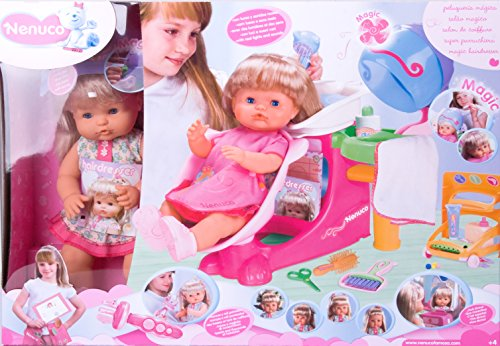 Nenuco Parrucchiera Deluxe, Colore Rosa, 700004685