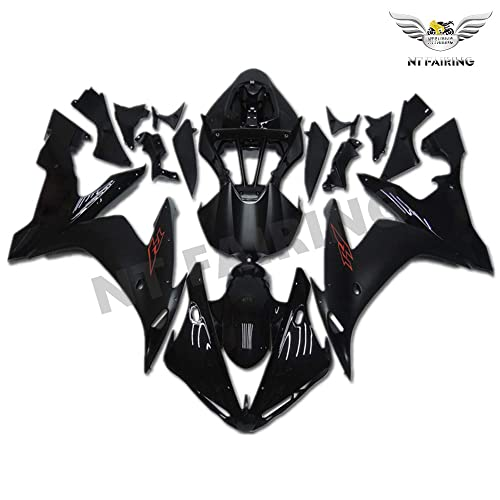 NT FAIRING Glossy Matte Black Injection Mold Fairing Fit for Yamaha 2004 2005 2006 YZF R1