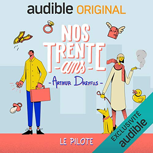 Nos 30 Ans. Le Pilote cover art
