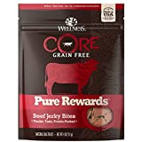 Wellness CORE Pure Rewards Grain-Free Beef Jerky Bits Dog Treats, 4...