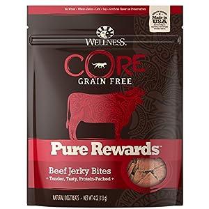 Wellness Core Pure Rewards Grain-Free Jerky Bites Dog Treats