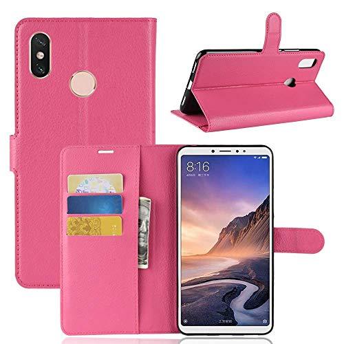 Lapinette Funda Tipo para Xiaomi mi MAX 3-Blanco - Rosa