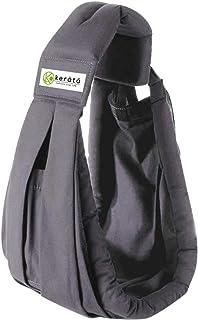 (ケラッタ) 新生児 ベビースリング 成長に合わせて使える6WAY 抱っこひも 日本正規品(国内安全基準適合品) (グレー)