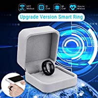 Unlock Health Protection Waterproof Smart Ring Wear technology Magic Finger NFC Ring for Android Windows NFC Gift Box