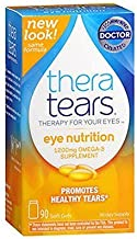 Thera Tears Nutrition for Dry Eyes, Softgel Capsules - 90 Ea (Pack of 2) by Thera Tears