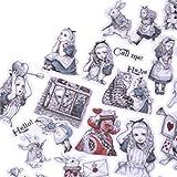BLOUR DIY Creative selbstgemachte handgemalte Handwerk Alice im Wunderland Version Mädchen...