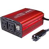AC 300W SpeedWatt DC 12V to AC 110V Car Inverter Power Inverter with 4.2A Dual USB Car Adapter