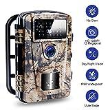 Lincom Camera de Chasse 12MP 1080P HD Caméra de Chasse de Nuit avec 940nm IR LED Infrarouges, Caméra de Chasse Imperméable IP66 pour la Nature Extérieure, la Surveillance à Domicile de Sécurité
