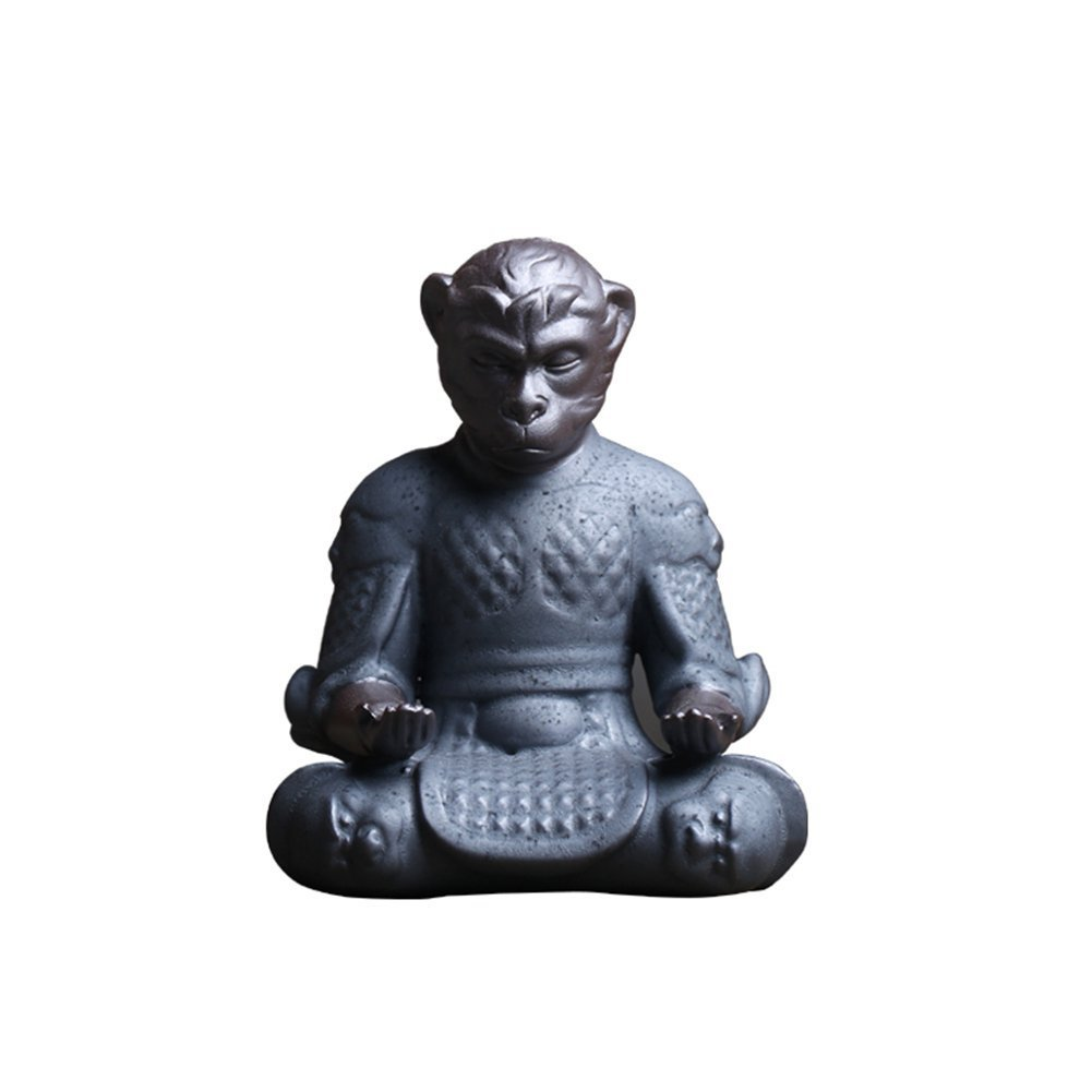 Amazon.com: Desk Pen Holder - Sun Wukong Pencil Holder Monkey King