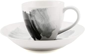 Thirstystone Espresso Demitasse Cup and Saucer Set