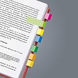 Sigel HN682 - Marcadores adhesivos para libros (500 hojas, 1