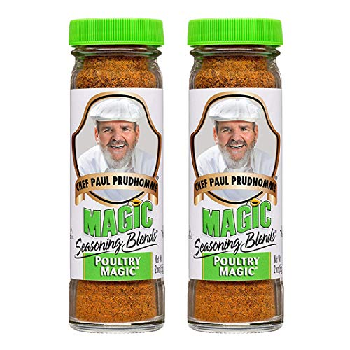 Poultry Magic Seasoning 2oz by Chef Paul Prudhomme's Magic Seasoning Blends