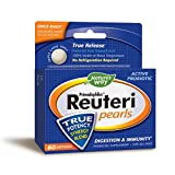 Nature's Way Primadophilus Reuteri Pearls Probiotic, Supports Digestion and Immunity, Survives Stomach Acid, 60 Softgels