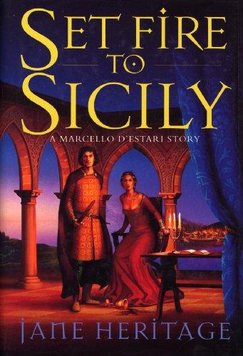 Set Fire To Sicily: A Marcello D'Estari Novel