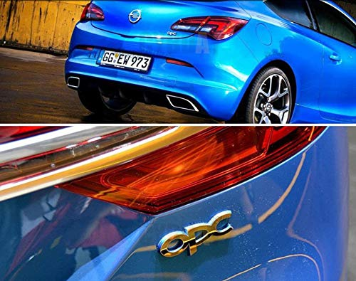 wangjianbin Opc Emblema De Metal Insignia Etiquetas Engomadas del Coche Estilo Parrilla Delantera para Opel Mokka Corsa Meriva Zafira Astra J H G Vectra Antara Insignia