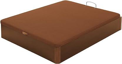 Flex - Canapé Abatible Madera Transpirable Tapa 3D - 135X190, Color Cerezo