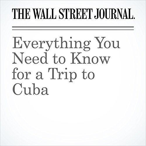 Everything You Need to Know for a Trip to Cuba audiobook cover art