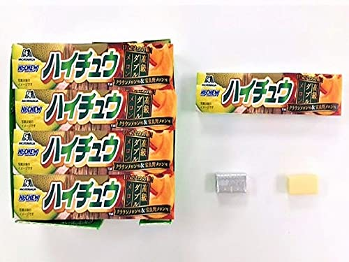 【販路限定品】森永製菓 ハイチュウ クラウンメロン&富良野メロン 12粒×12個