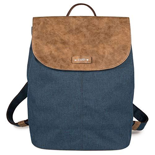 Zwei Damen Tasche O13 Olli, Farbe:blue, Größe:Einheitsgröße