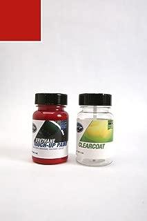 ColorRite Two-Ounce Bottle Automotive Touch-up Paint for Triumph All - Pimento 72/CAB - Color+Clearcoat Package