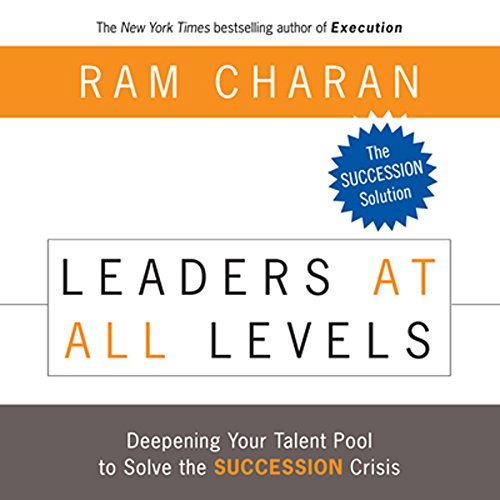 Leaders at All Levels audiobook cover art