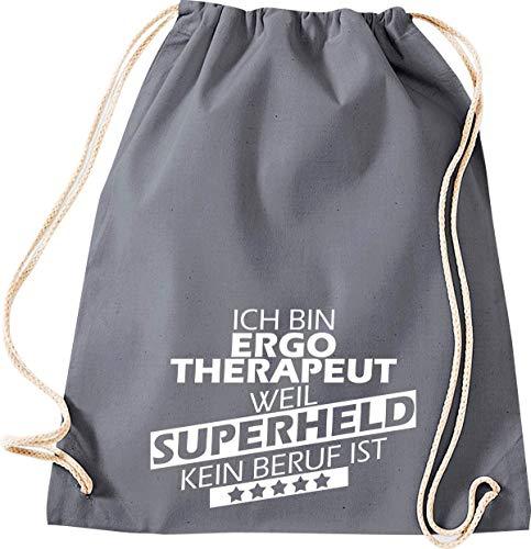 Turnbeutel /& Gym Bag Sonstige Berufe Erzieher weil Superheld keine offizielle Berufsbezeichnung ist