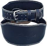 RDX Sollevamento Pesi Cintura Vacchetta Cuoio 6