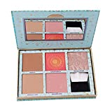Professionelle 5 Farben Lidschatten-Palette Makeup Contouring Kit Cosmetic Lidschatten-Tablett mit...