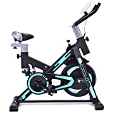 ZRB Indoor Exercise Bike Home Spinning Bicycle Cycling Bike Fitness Workout Exercise Machine Cycling Trainer