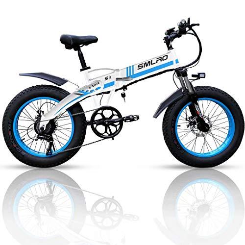 20 Zoll Elektrofahrrad mit 1000 W 48 V 14Ah Samsung Lithiumbatterie Faltbares Elektrofahrrad, 4' Fettreifen Klapprad E-Bike für Erwachsene, Herren Damen.