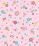 Dandino Colorido Papel de Flores, Corazones