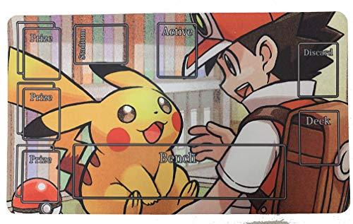 Pokemon Card Playmat -Ash & Pik…