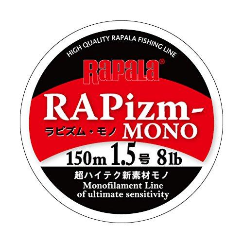 Rapala(ラパラ) ナイロンライン ラピズム モノ 150m 1.5号 8lb クリア RPZM150M15CL