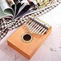 Murakush カリンバ 親指ピアノ 10キー 木製 おもちゃ 楽器 キッズクリスマスギフト 子供