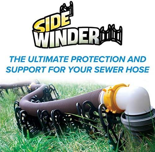 RV Sewer Hose Support 20ft Sidewinder Dump Station Toilet Trailer Camper Sewage