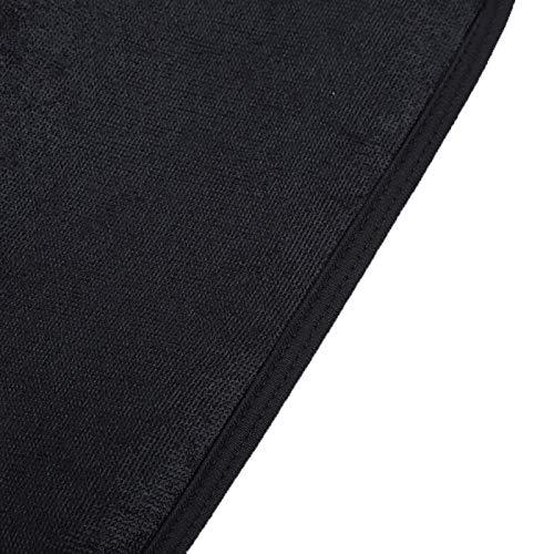 Pwshymi Deportivo becerro soporte portátil para proteger la pantorrilla para el cuidado de la salud (negro, talla única)