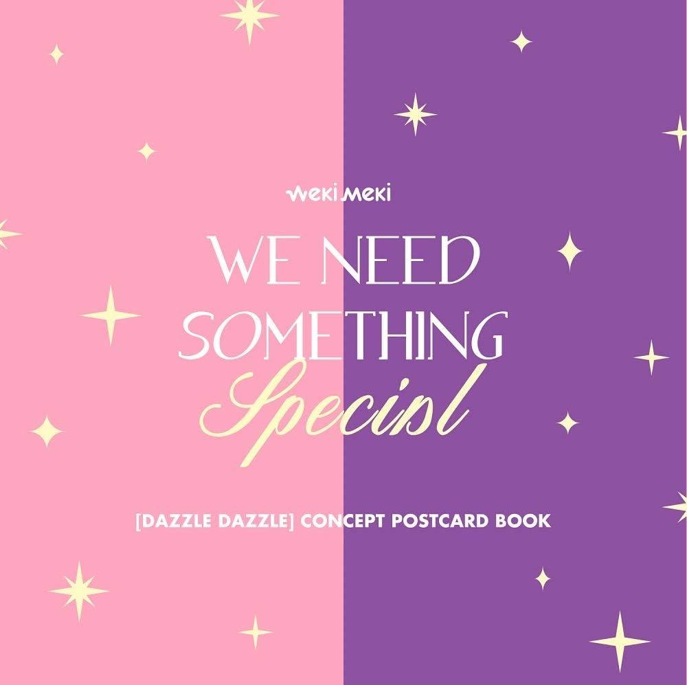Fantagio WEKI MEKI - Dazzle Inventory cleanup selling sale mart Dazzli Postcard Book Concept
